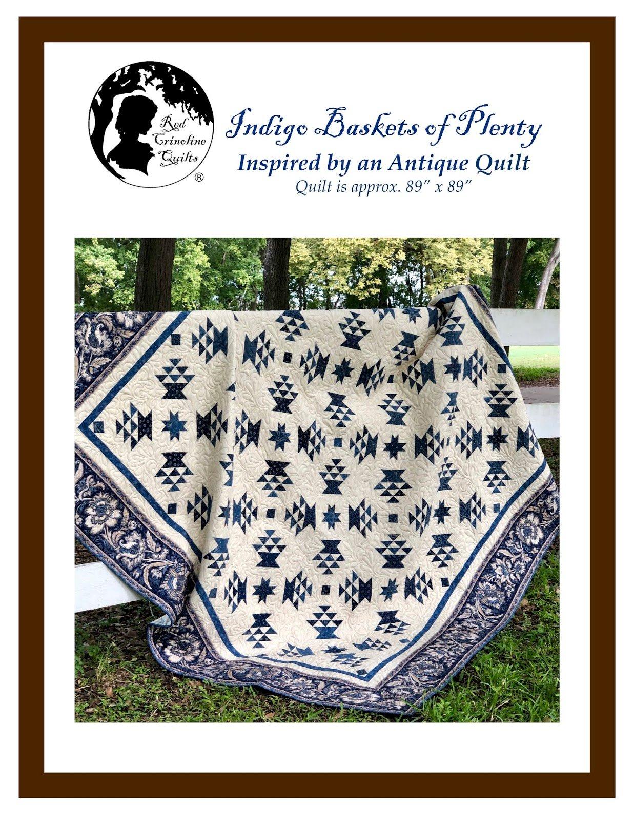 Indigo  Baskets of Plenty Kit