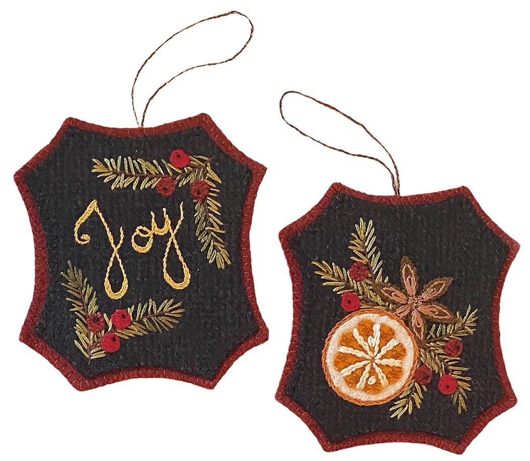 Bits of Joy Ornament Pattern - Karen Yaffe