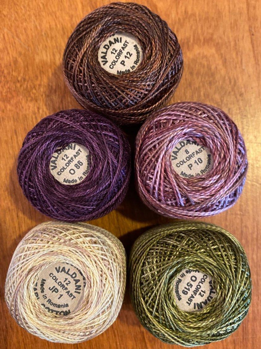 Bloomin' Lilacs Thread Kit