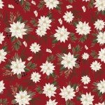 Farmhouse Christmas by Echo Park Paper Co - Red White Poinsettias