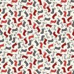 Farmhouse Christmas by Echo Park Paper Co - Stockings Cream