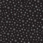 Farmhouse Christmas by Echo Park Paper Co - Snowflakes Black