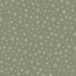 Farmhouse Christmas by Echo Park Paper Co - Snowflakes Sage