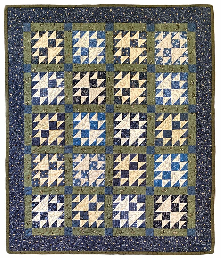 Carrie's Puzzle Quilt Kit