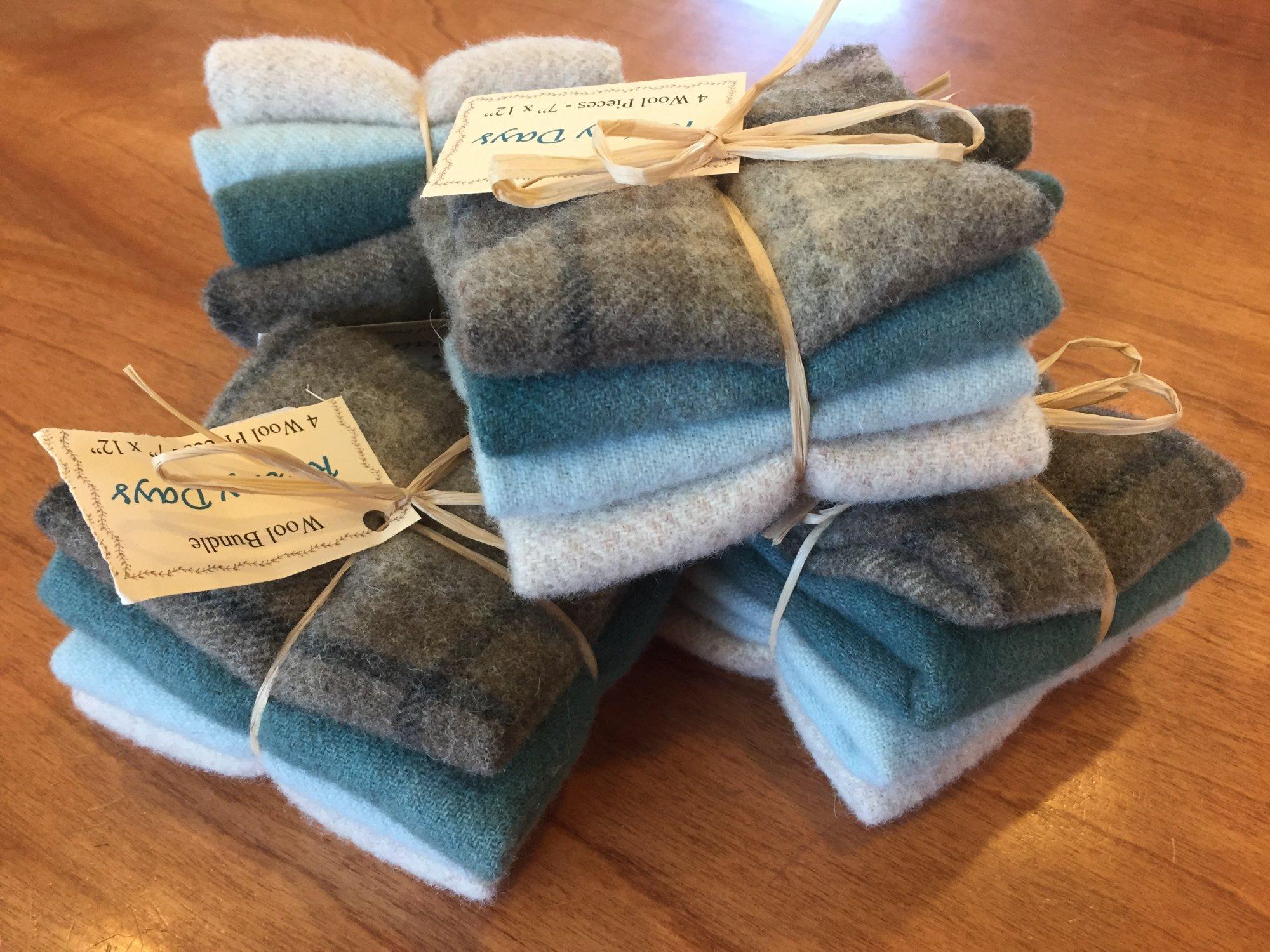 Wool Bundle D - Rainy Days
