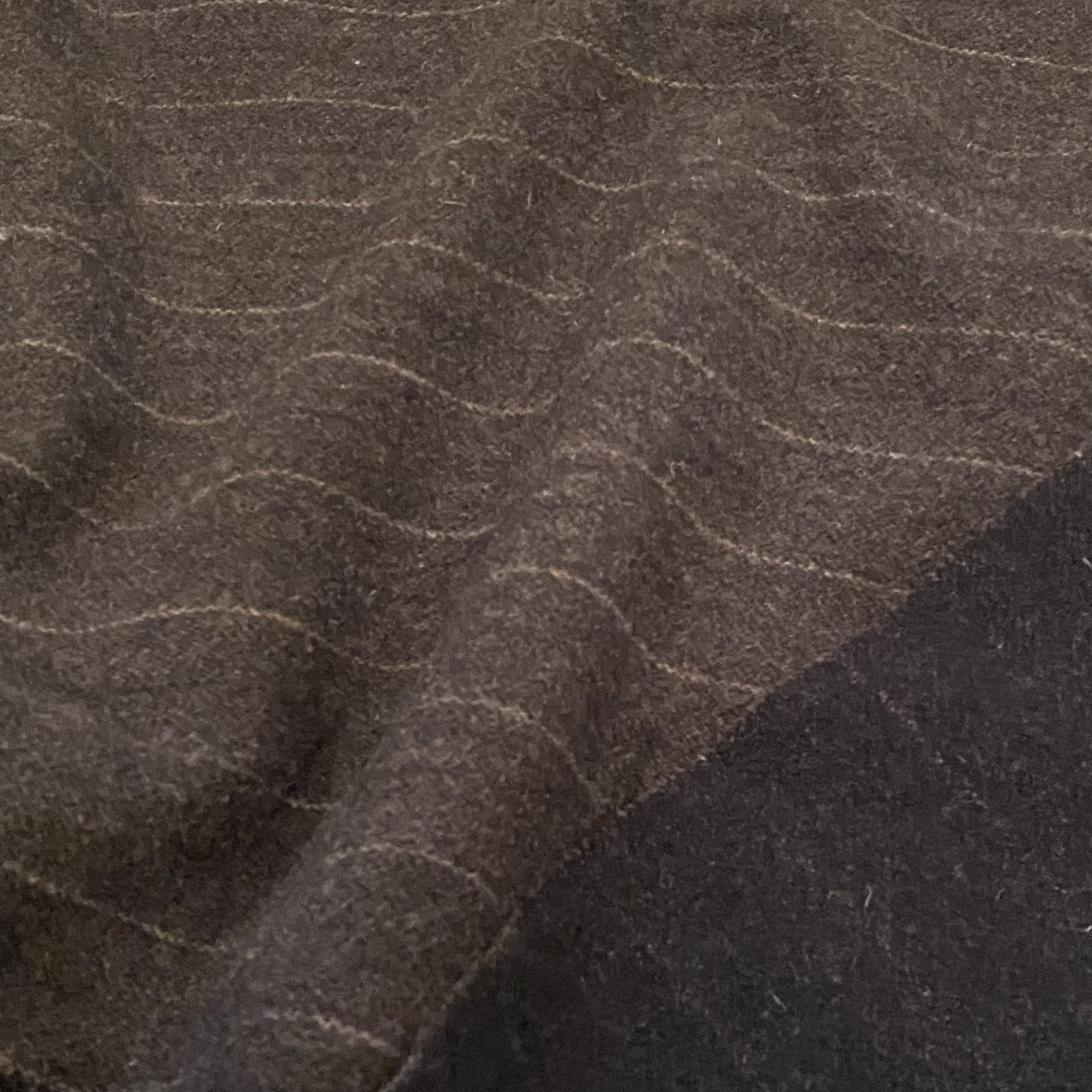Charcoal Stripe 100% Wool