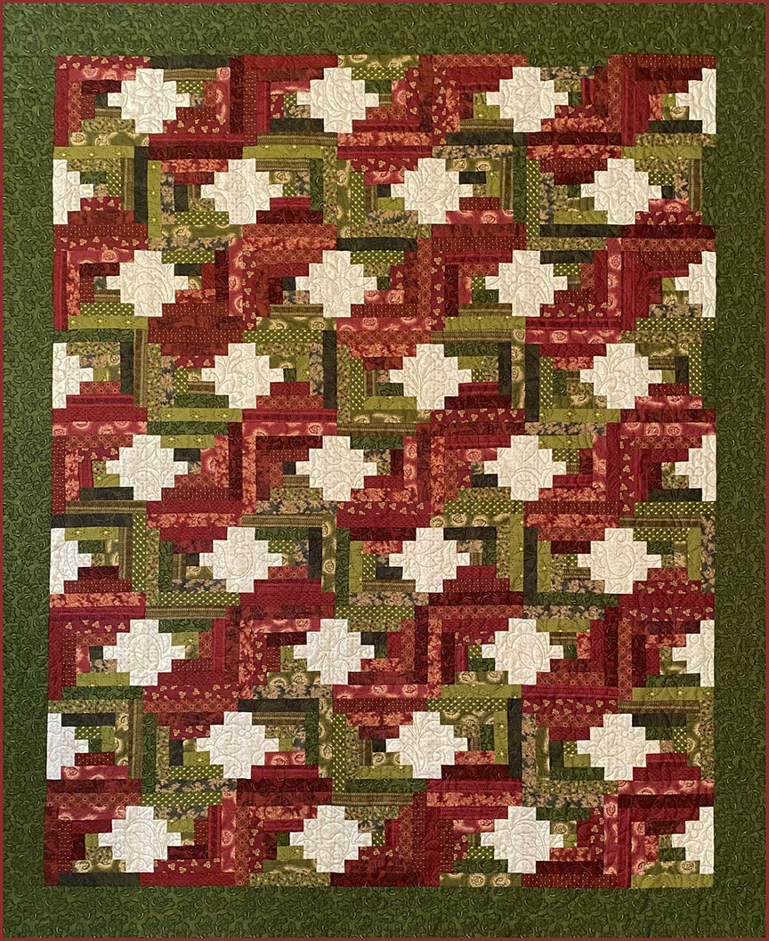 Christmas at the Cabin Lap Quilt Kit