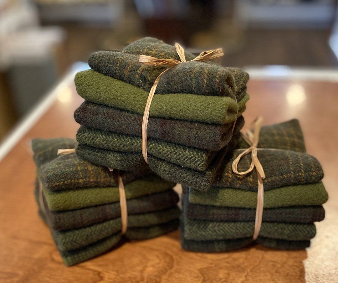 Christmas Green Wool Bundle November 2020