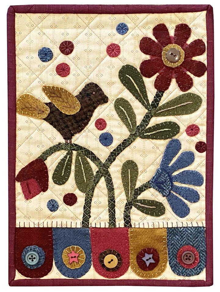 Clipboard Quilts #4 Kit 1 Bird & Flowers