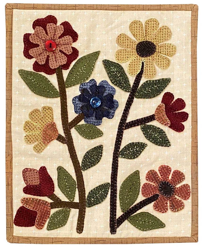 Clipboard Quilts #16 Kit - Flowers