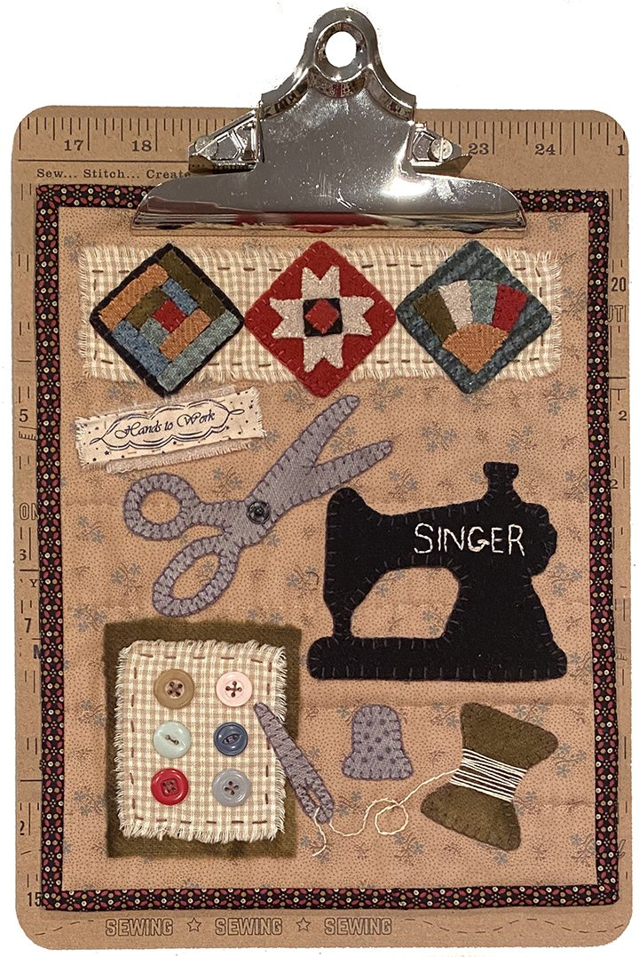 Clipboard Quilts #4 Kit 2 Sewing Notions