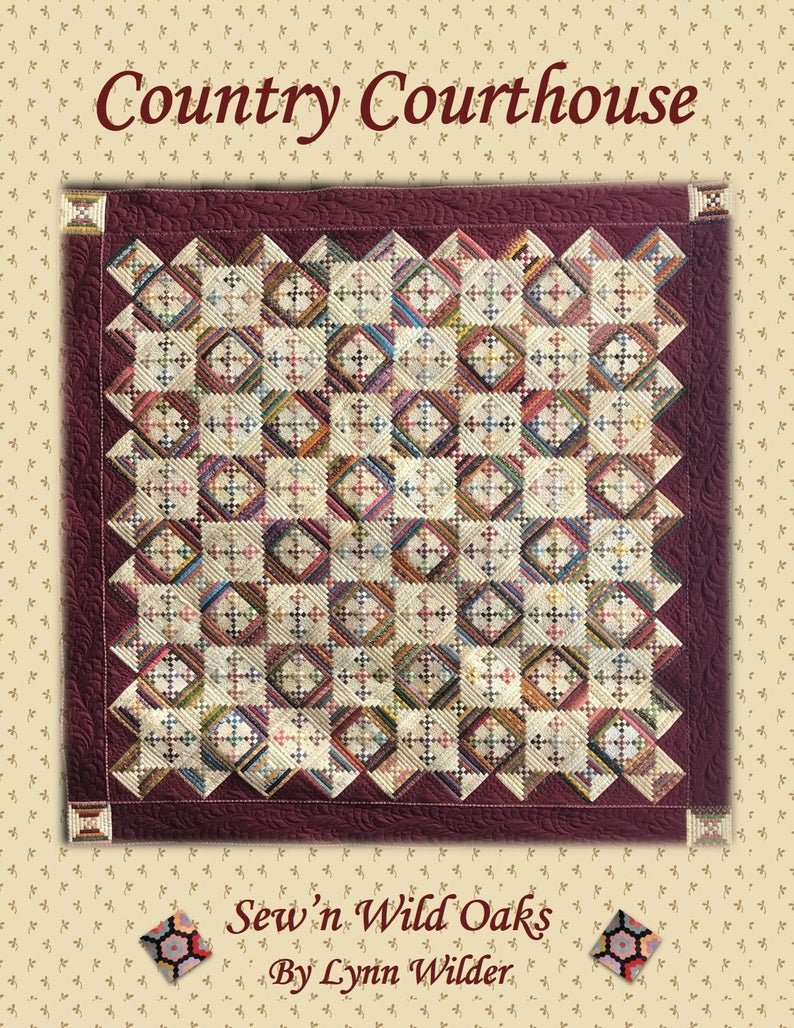 Country Courthouse Quilt Pattern