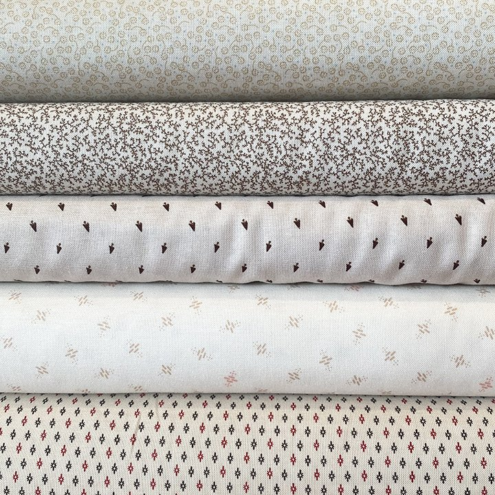Shirting 5 Fat Quarter Bundle Jan 21