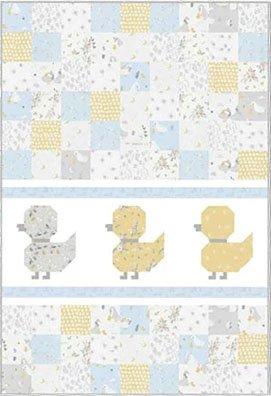 #11 Duckling, Duckling, Go Baby Quilt Kit