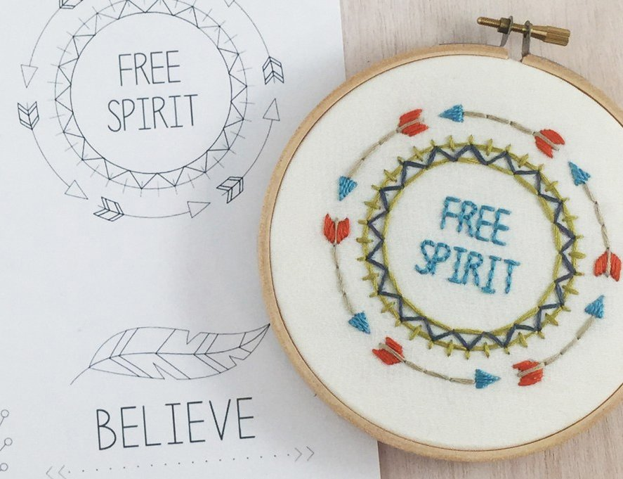 Embroidery in the Hoop Wall Art *NEW*