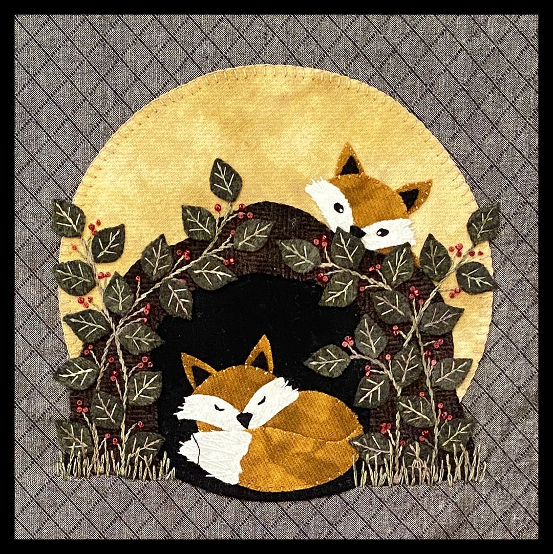 Wild and Wonderful Under the Harvest Moon Block 3 KIT - Fox in the Grove