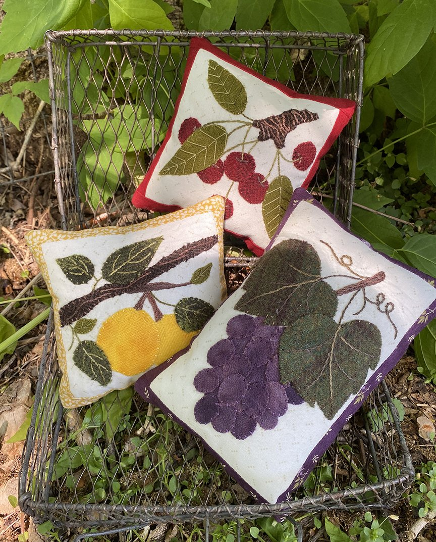 Fruit Bowl Fillers Pattern - Karen Yaffe  - DIGITAL DOWNLOAD