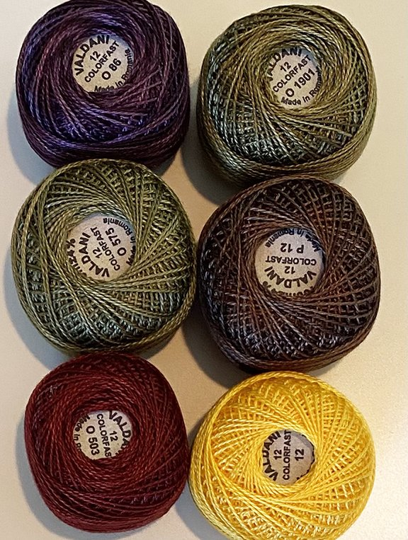 Fruit Bowl Fillers Thread Kit