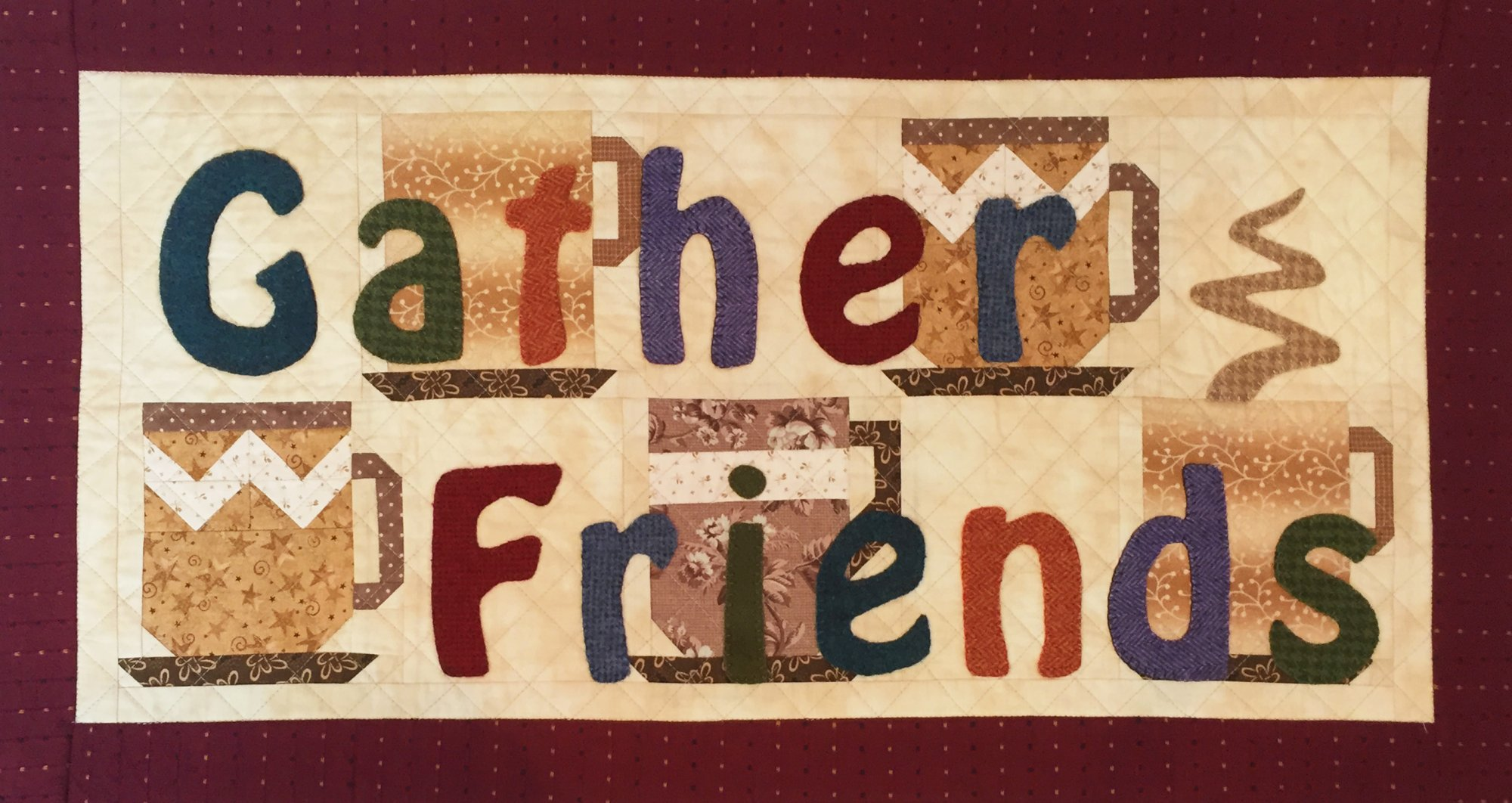 Gather Friends - Row by Row 2019