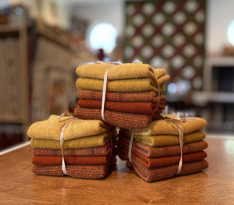 Golden Oak Wool Bundle - Aug 2021