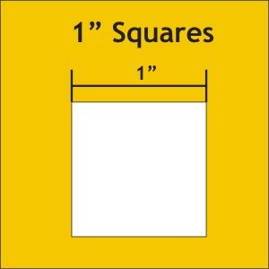 Square Paper Pieces 1'' (900 pcs)