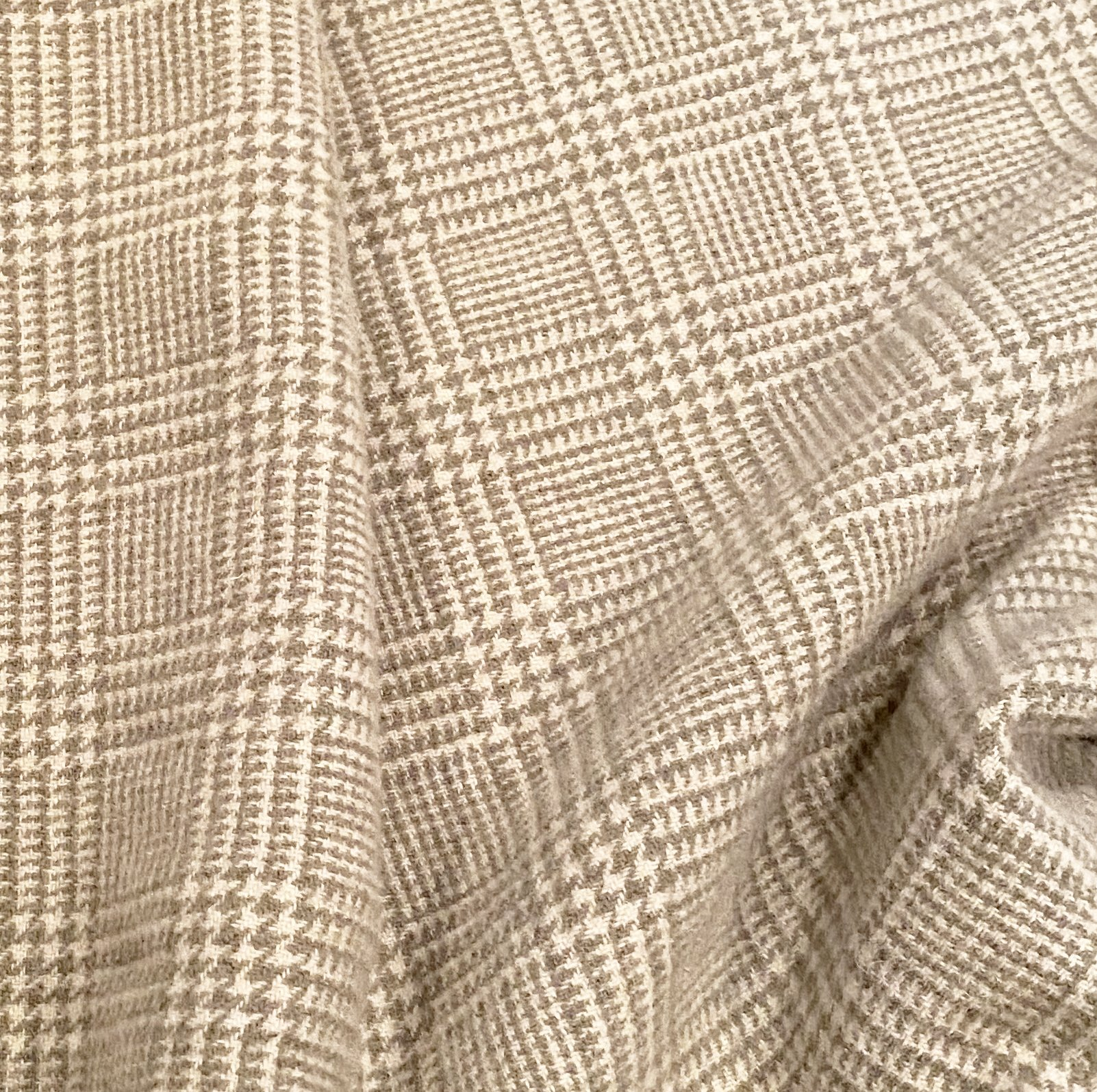 Gray Glen Plaid 100% Wool