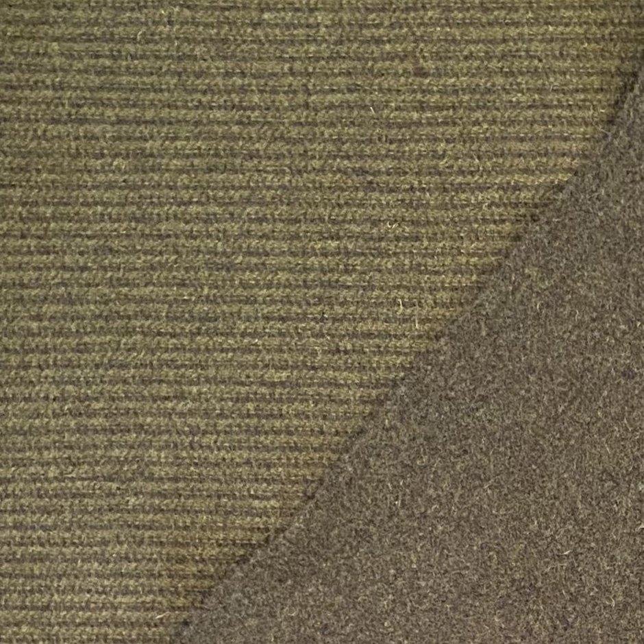 Green Giant Reversible Stripe 100% Wool