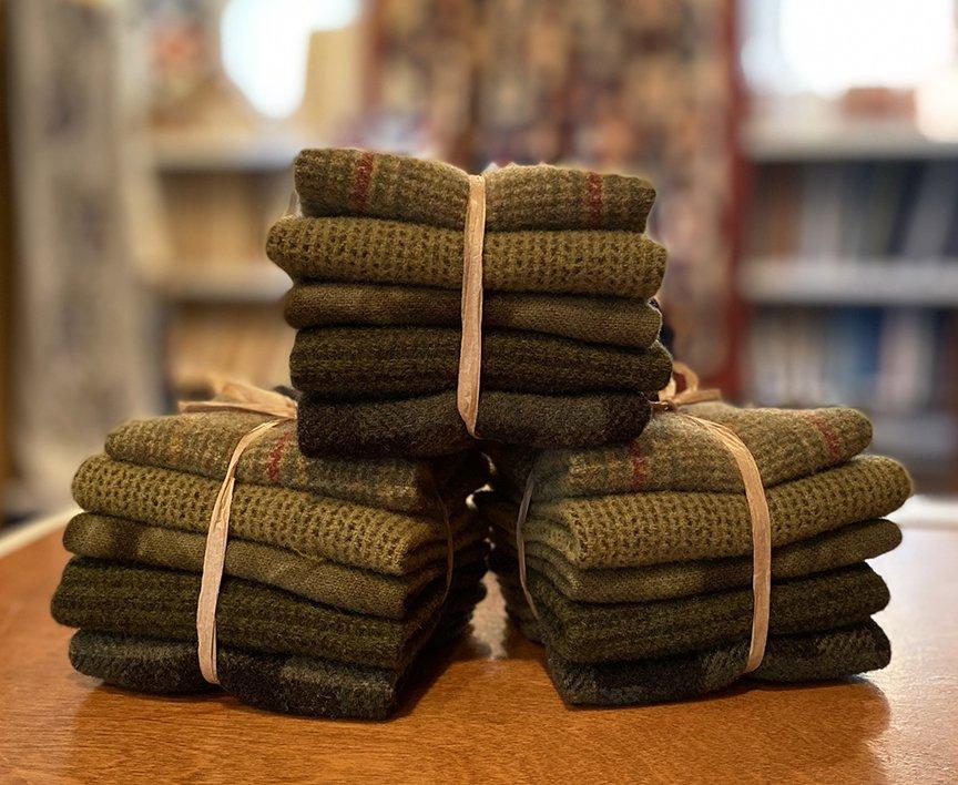 Green Grass Wool Bundle - June 2021