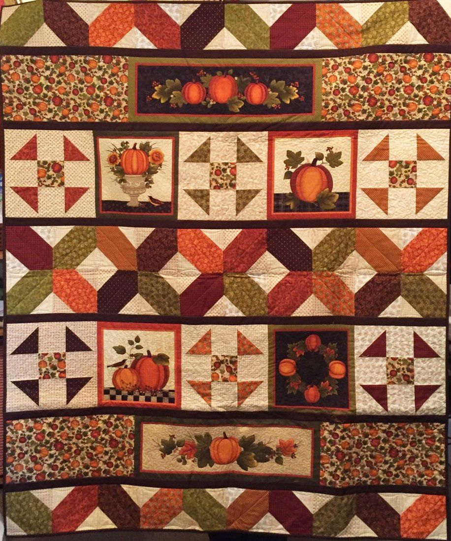 Harvest Berry Row Quilt