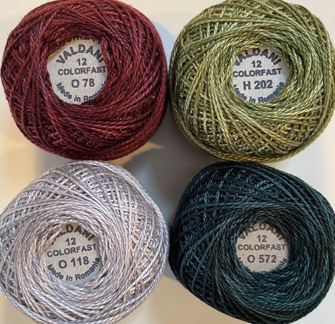 Hollydazzle Thread Kit