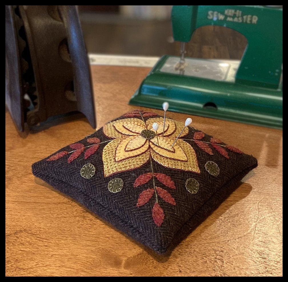 Indian Summer Pin Cushion Pattern - Karen Yaffe