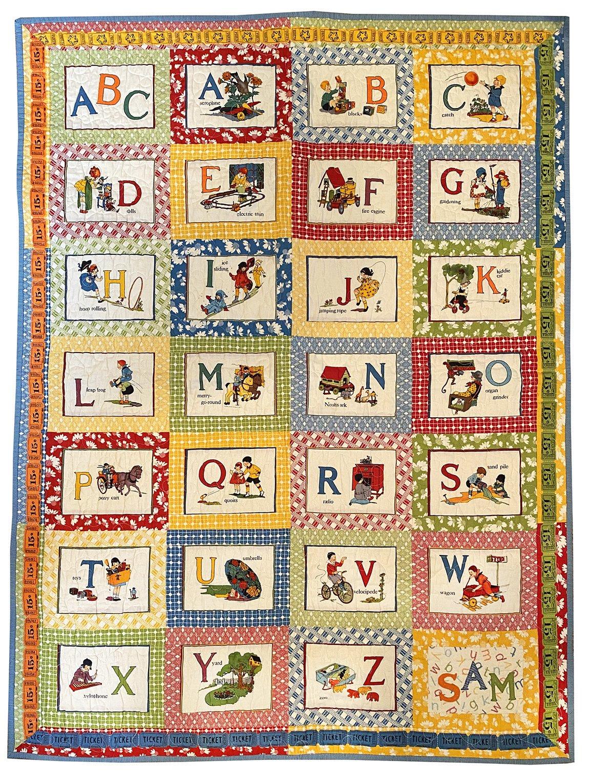It's Elementary ABC Panel Quilt