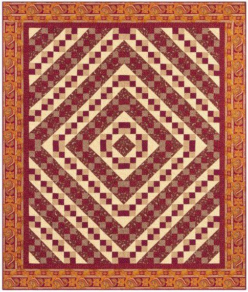 Katie's Madder Ladder Quilt Kit
