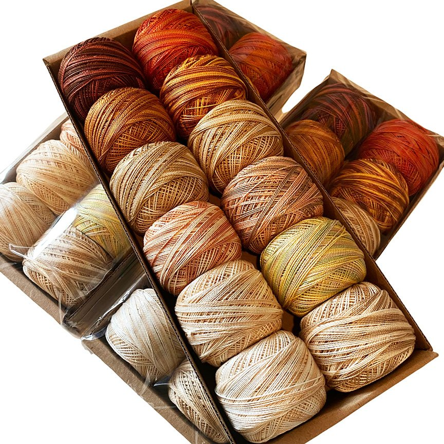 Limited Edition Earth Valdani Size 8 Thread Kit
