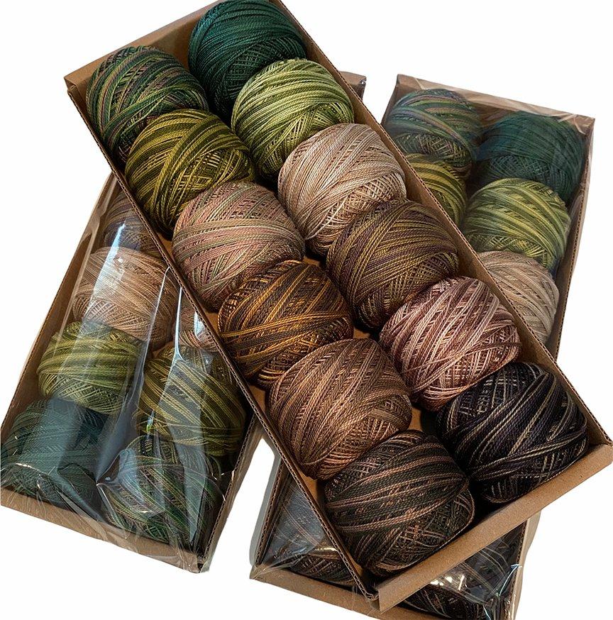 Limited Edition Greens Valdani Size 8 Thread Kit
