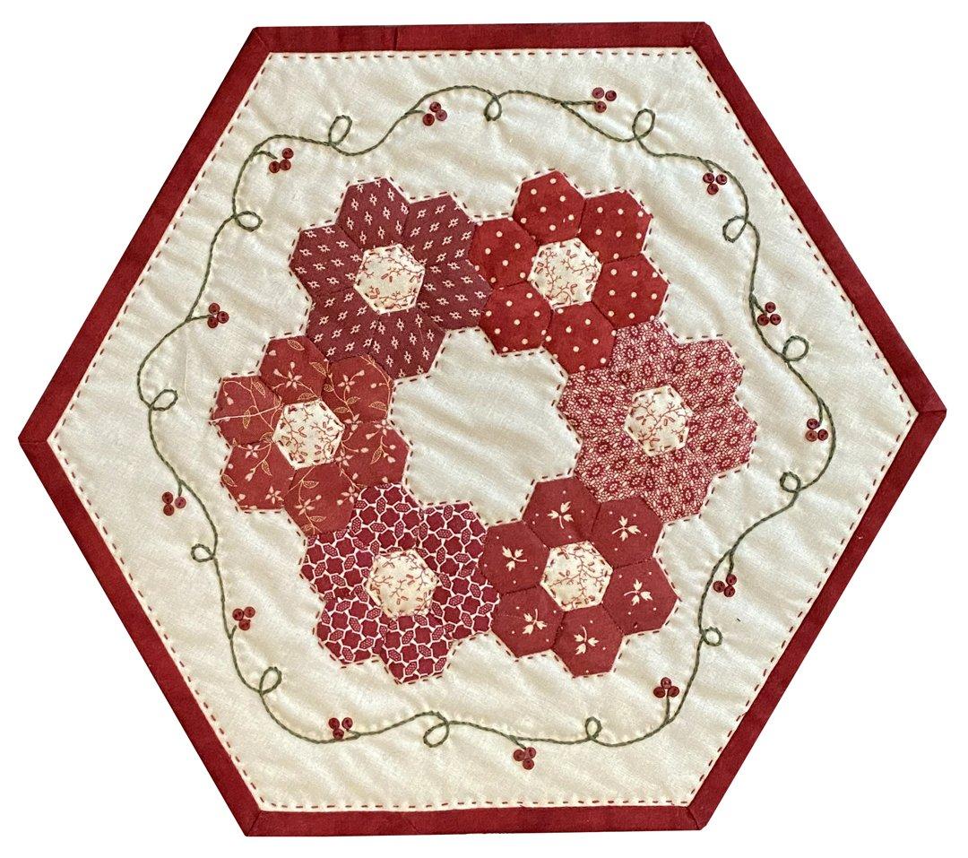 Little Red Seventeen Table Mat Pattern