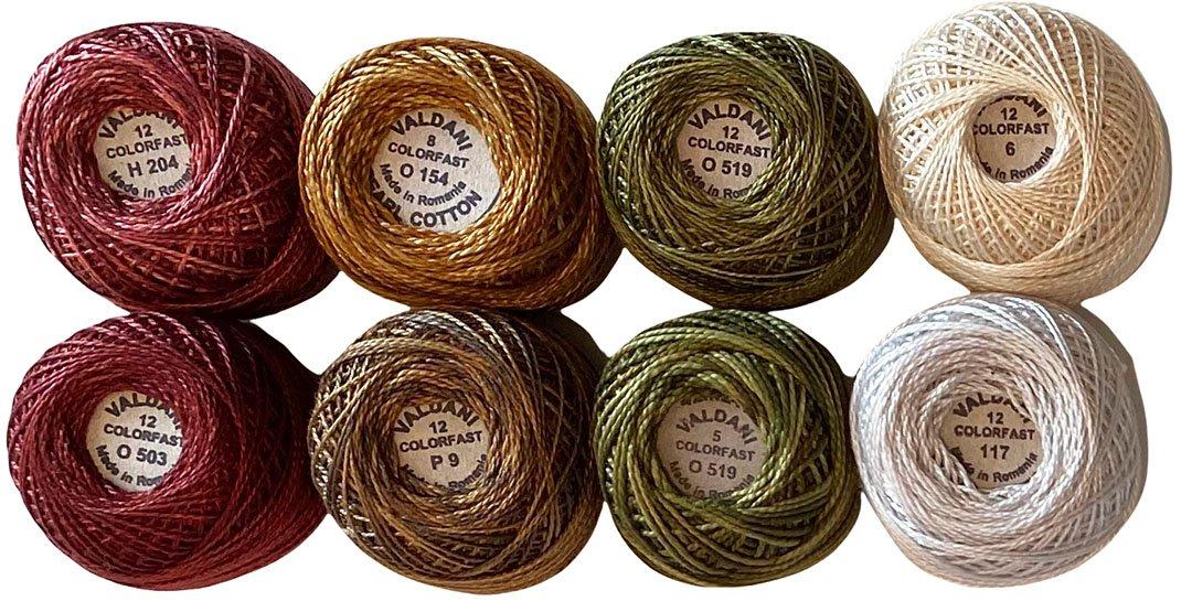 Merry Mistletoe Thread Kit