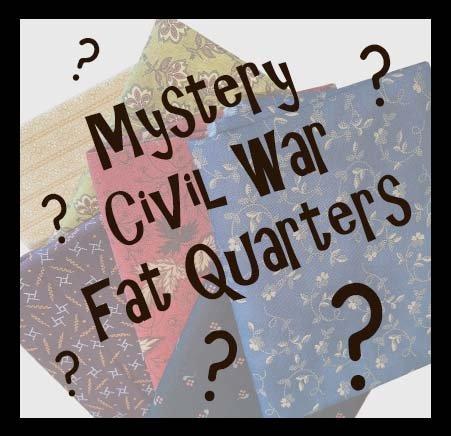 Mystery Civil War Fat Quarters