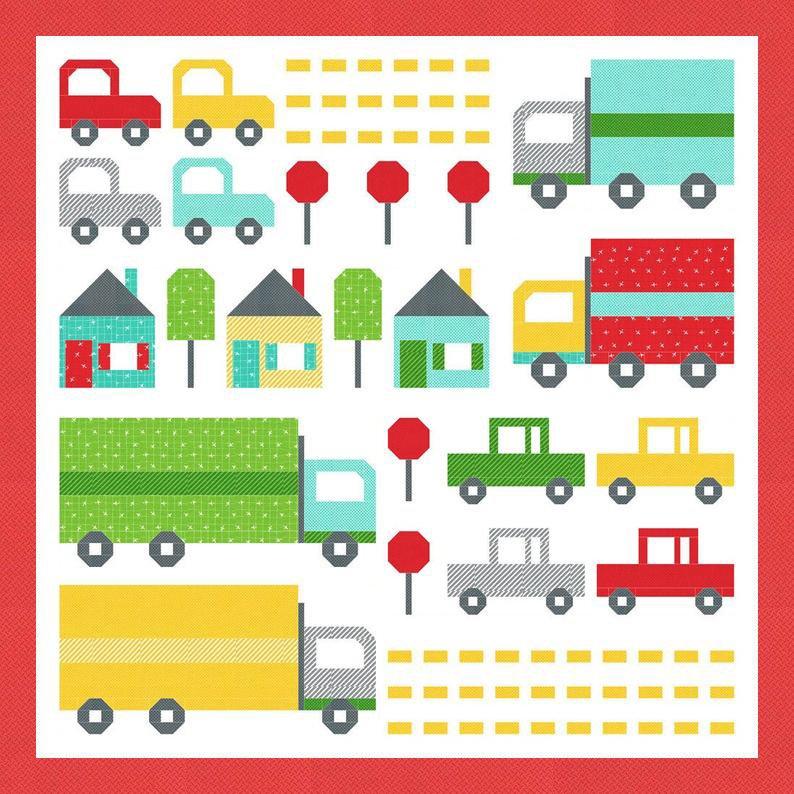 Traffic Jam Quilt Kit