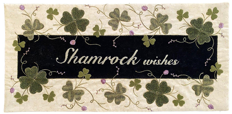 Shamrock Wishes Pattern - DIGITAL DOWNLOAD
