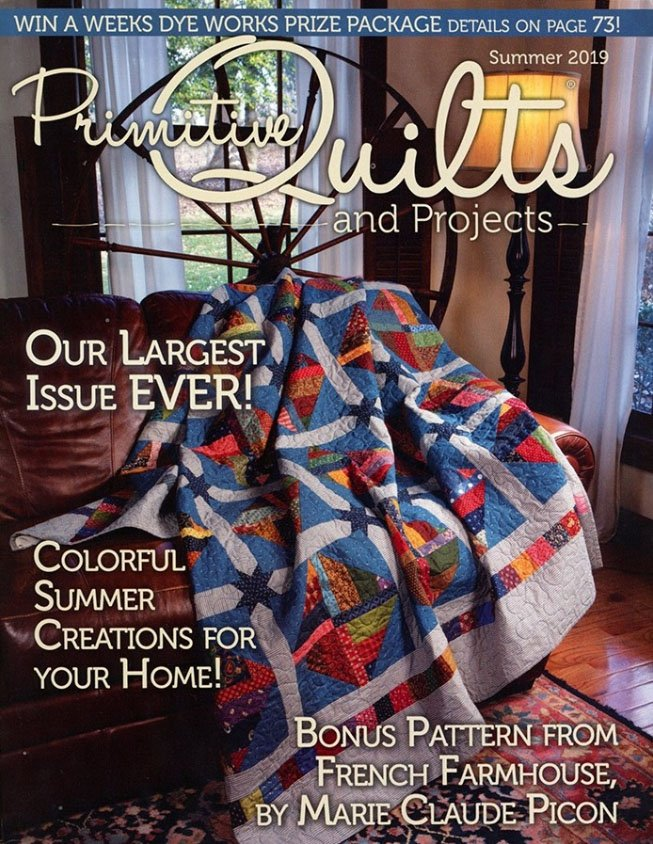 Primitive Quilts & Projects Summer 2019