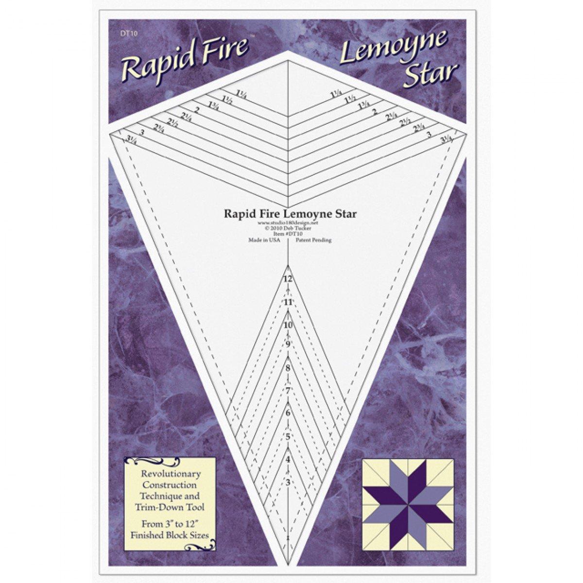 Ruler - Rapid Fire Lemoyne Star