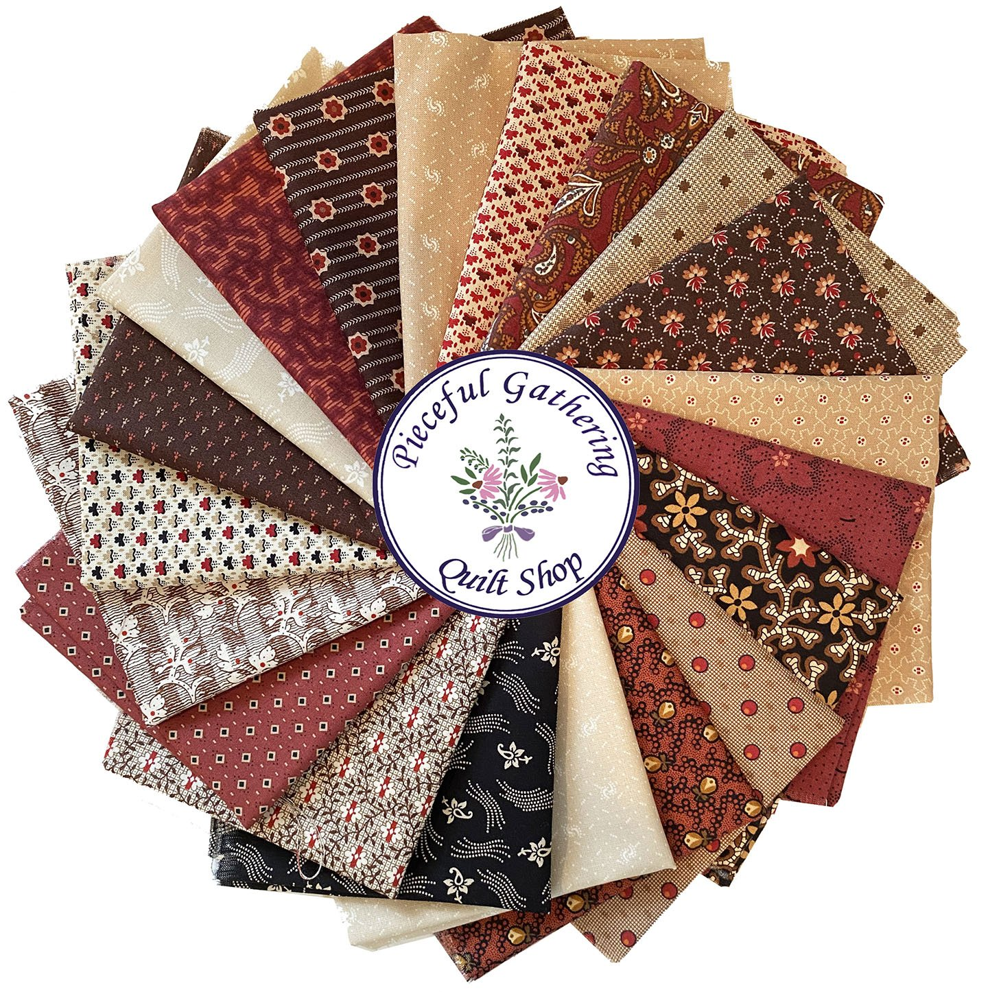 Red & Brown Starter Bundle - 20 Double Snippets