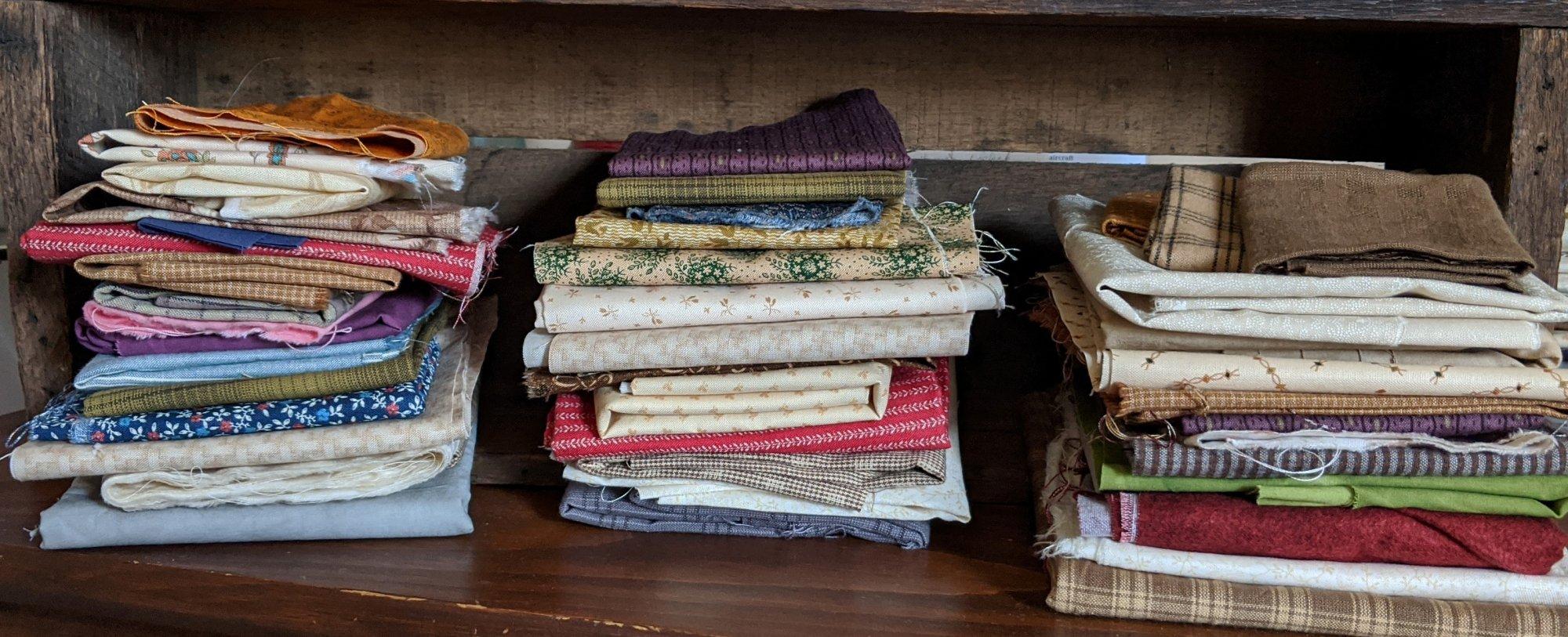 Scrap Bags - 2.5+ Yards of Fabric
