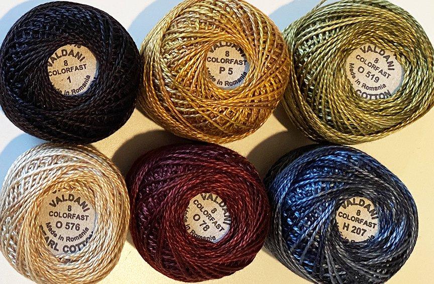 Katie's Favorites Size 8 Thread Kit