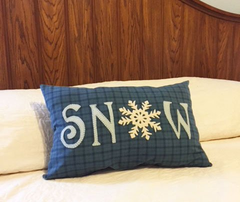 Snow Pillow Pattern - Digital Download