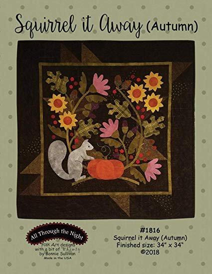 Squirrel it Away - Autumn Pre-Cut Kit