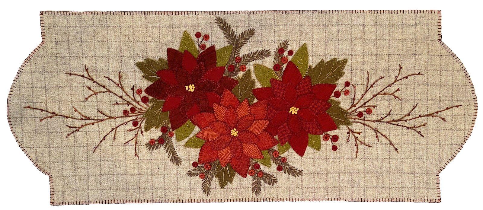 Star of Bethlehem by Karen Yaffe Wool Runner Pattern - DIGITAL DOWNLOAD