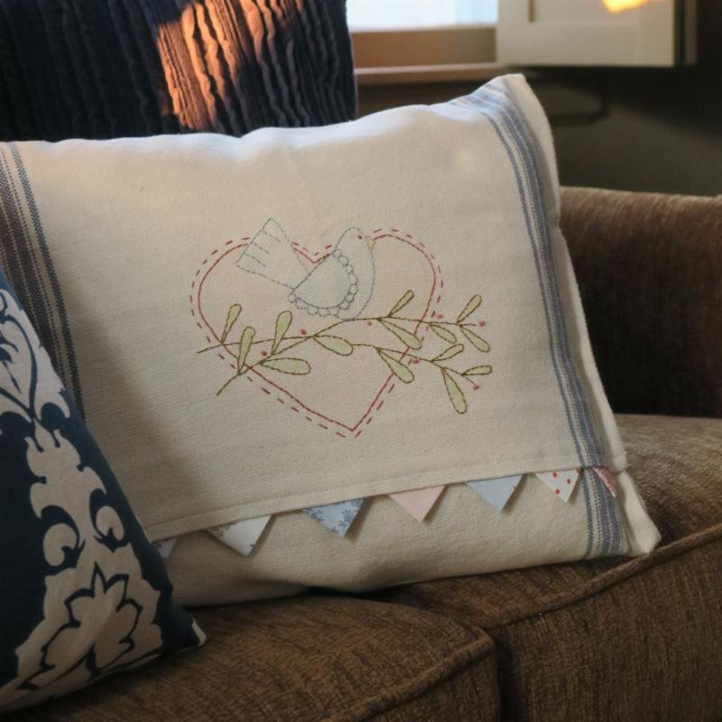 Sweetheart Spring Pillow