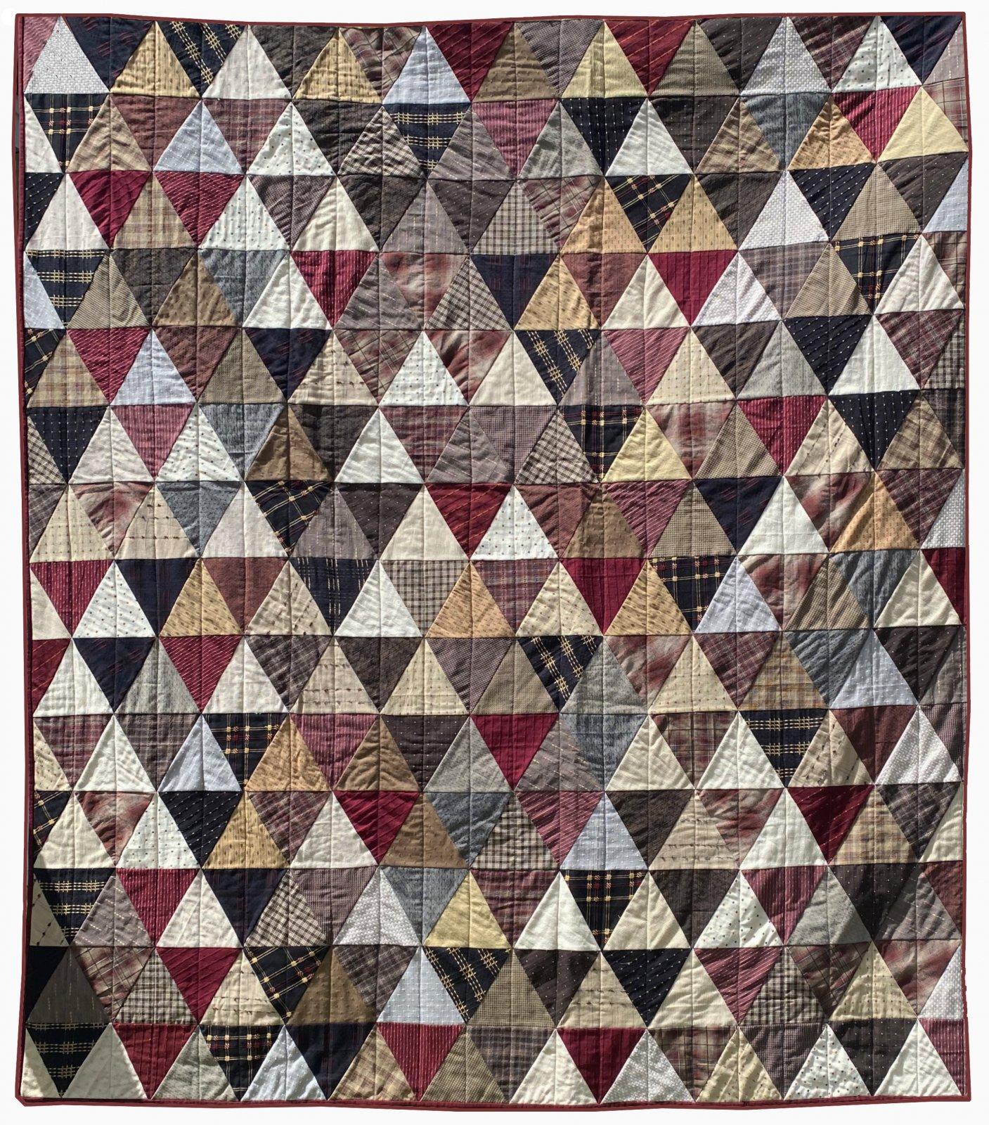 Textured Triangles Fat Quarter Bundle